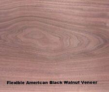 Real Wood Flexi/Flexible American Black Walnut Veneer
