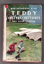 Bibliothèque Rose. Teddy chez les Cheftaines. 1948 - Scoutisme