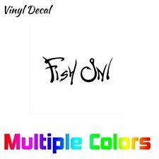 Fish On Sticker | Truck Boat Car Window Vinyl Fishing Decal *Multiple options*