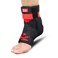 2X Kuangmi Neoprene Ankle Support Brace Guard Foot Sprain Injury Pain Wrap Strap
