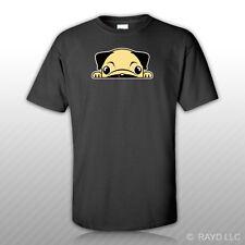 Pug T-Shirt Tee Shirt Free Sticker Mini Dutch Mastiff