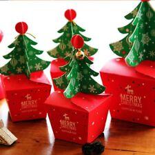 Fashion Children Baby Kids Xmas Bags Christmas Tree Paper Carrier Jar Sugar Box