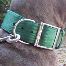 Manche En Nylon Ruban Vert Dogue Allemand Bulldog Molosse Pit-bull Rottweiler
