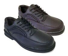 NIB Men's Walking Shoes Casual Comfort Oxfords Lace Up Walker Sneakers, Siz
