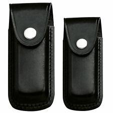 Herbertz CUCHILLO estuche de cuero estuche cinturón-correa para cinturón-cuchillo plegable 2 tamaños