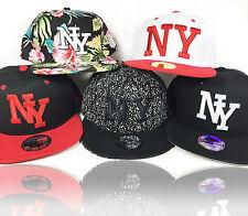 """NEW """"NY"""" New York Snapback Caps  Baseball Cap schwarz Kappe Mütze HipHop black"""