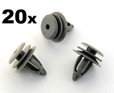 20x BMW Intérieur Porte Carte & bordure panneau fastener clips pour 1 et 3 modèles de série
