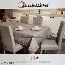 Chiffon dessus de table anti tache plastifiée cuisine rectangulaire meubles +