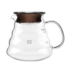 Glass Coffee Server 250/360/600/800ml Coffee Maker Pots Kettle Glass Filter