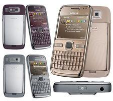 Unlocked Nokia E72 5MP Camera 3G WIFI Metal QWERTY Keyboard Mobile Bar Phone