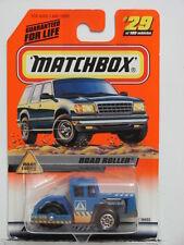 MATCHBOX 1999 #29 OF  100 ROAD ROLLER - ROAD WORK
