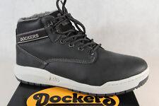 Dockers Botas de Hombre Botas Invierno Negro 43MR105 Nuevo