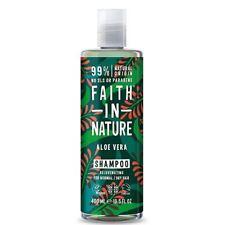 Faith In Nature Aloe Vera Shampoo - Rejuvenating - 400ml