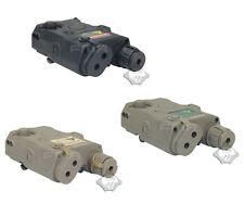 Outdoor Airsoft PEQ 15 Dummy Battery Case Box Model BK/DE/FG