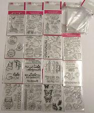 Clear Stempel Siliconstempel Stamp Set Einladung Hochzeit Geburtstag Taufe Eule