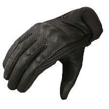 Gants pour moto été Gants de moto taille XS-XXL cuir biker gants