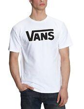 VANS New Men's Classic Print Logo T-Shirt Print Top Tee S M L XL XXL White