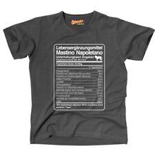 T-Shirt Unisex DOSIS MASTINO NAPOLETANO Lebensergänzungsmittel by Siviwonder