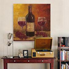 3D Purple Grape Wine  Wall Stickers Vinyl Wall Murals Print Decal Art AJSTORE CA