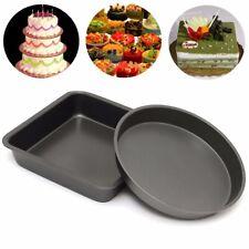 Non-Stick Quality Cake Baking Tin Tray Bakeware Pan Mould Wedding Party Bday NEW