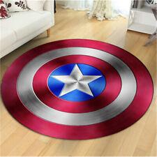 Marvel Comics Captain America Shield Floor Rug Carpet Room Doormat Non-slip Mats