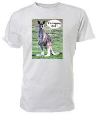Kangaroo T shirt, I'm Hopping Mad!, WILDLIFE - Choice of size & colour!
