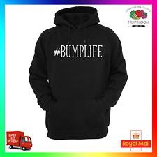 Bumplife Hoodie Hoody Funny Pregnant Pregnancy Baby Maternity Bump Thug Hashtag