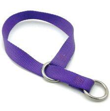 "HAMILTON ST 1"" Nylon Choke Dog Collar, Purple"