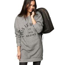 Bench Arrangement Sweater Pullover Pulli long cut Sweatshirt BLEA3771 GY001X