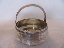 panier sucrier argent russe vermeil (russian silver sugar basket bowl) 1896