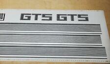 Vintage 1983 - 1985 Toyota Supra GTS Graphics Decal Sticker 3M