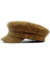 NEW RETRO MOD INDIE FAWN CORD Corduroy BEATLE HAT / CAP John Lennon Newsboy 60s