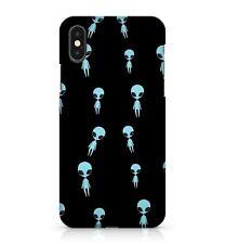 Light Blue Coloured Dark Galaxy Mysterious Wonderful Aliens Phone Case Cover