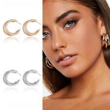 Fashion Round Circle Earrings Women Geometric Boho Dangle Earrings Jewelry Gift