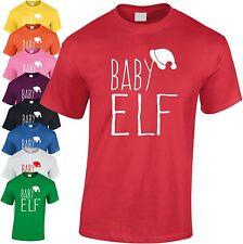Baby Elf Enfants T Shirt Cool Kids Tee Noël Jeunesse Amusant Idée Cadeau