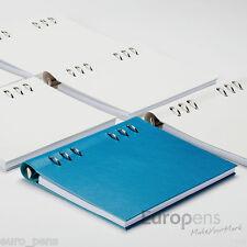 """Filofax"""" LIBRO Clips"""" Piel De Imitación A5 Rellenable Cuaderno - Elegir Color"""