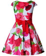 Mädchen Kleid Festlich Hochzeit Einschulung Blumenmädchen Sommerkleid Blumen