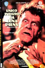 Unico indizio la Luna piena (1986) VHS 1a Ed. W.B . Gary Busey Daniel Attias