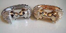 Fashion Silver/Gold Finish Rhinestone Animal Bangle Dressy/Casual Wear Bracelet