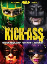 KICK-ASS Nicholas Cage Christopher Mintz-Plasse BLU RAY disc only NO DVD