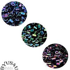 MIYUKI® SEED GLASS BEADS HEX 2-CUT  Choose Color 25 gram bag ~ approx. 2,450+