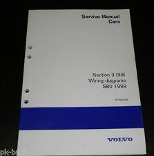Wiring Diagrams / Schaltpläne Volvo S 80 Stand 1999