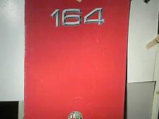 DEPLIANT ALFA ROMEO GAMME ALFA 164 1990