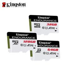 Kingston 32GB 64GB 128GB High Endurance MicroSDHC/XC Card for Dash Cam & Monitor