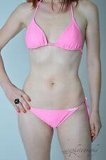 BNWT Stunning Kulu Australia Looks Like Crochet Pink Bikini Set Various Sizes