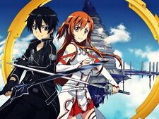 Sword Art Online SAO Kirito Asuna Anime Manga Huge Giant Print POSTER Affiche