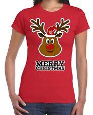 Merry Christmas Rudolph Women's T-Shirt