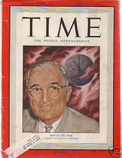 1949 Time January 3 KKK in Talladega; C-47 crash;Movies