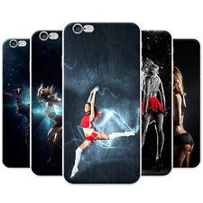 Azzumo Adrenaline & Action Seeking Fun Women Soft Thin Case Cover For the iPhone