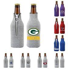NFL Football Glitter Womens Bottle Drink Holder - Team Logo - Pick your team!